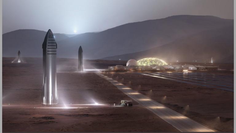 Мъск: SpaceX ще приземи хора на Марс до 2026 година