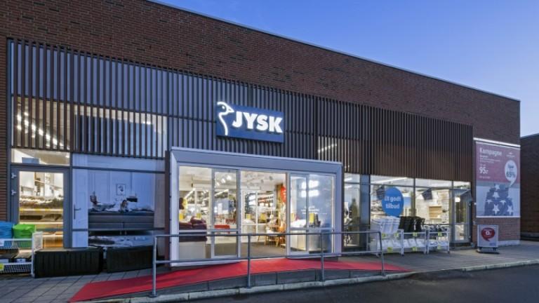 Веригата JYSK отваря нови 14 магазина у нас и наема над 700 служители