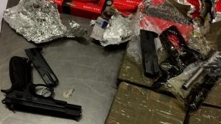 "Пистолет и 5200 патрона в прах за пране откриха на ""Капитан Андреево"""