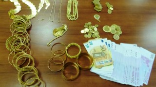 "Задържаха над 2 кг златни накити и 55 000 евро на МП ""Калотина"""