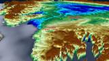 НАСА откри втори голям метеоритен кратер под леда на Гренландия