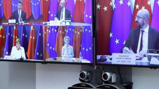 Меркел води преговорите на ЕС с Китай и иска да облекчи напрежението