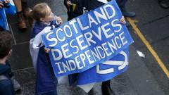 Все още повечето шотландци са за независимост