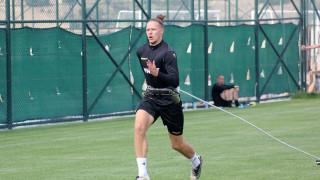 Тежки бегови упражнения за футболистите на Ботев (Пд)
