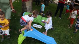 На детска градина пред президентството и Министерски съвет