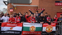 """Българските """"дяволи"""" станаха част от рекорд на Манчестър Юнайтед (СНИМКИ)"""
