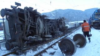 Вагон със скрап се запали на гара Разпределителна в Пловдив