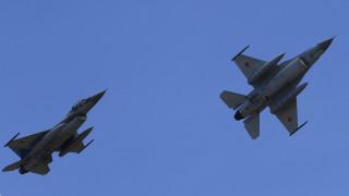 Показаха зареждане на Ф-16 във въздуха по време на учението на НАТО
