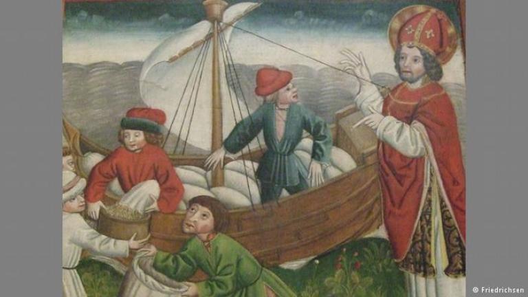 На 6 декември източноправославните християни честват Свeти Николай Чудотворец. Първообразът