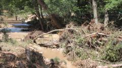 Село с 12 души напълно откъснато заради съборен мост