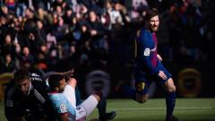 Барселона не можа да се справи с напористите галисийци от Селта