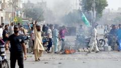 Пакистан блокира телефонните в страната, ислямисти протестират срещу християнка