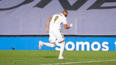 Реал (Мадрид) докосва титлата в Ла Лига след успех над Алавес