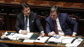 Правителството на Италия спечели вот на доверие в Сената за реформа на шпионажа
