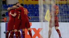 Рома с минимален аванс пред Гент, Перес герой за тима си