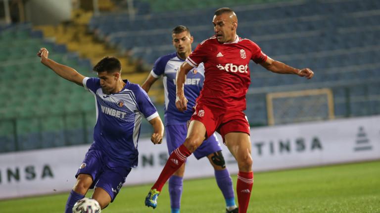 Мартин Камбуров е най-резултатният български футболист от началото на годината