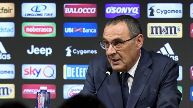 Треньорът на Ювентус Маурицио Сари коментира професионалното бъдеще на Пауло