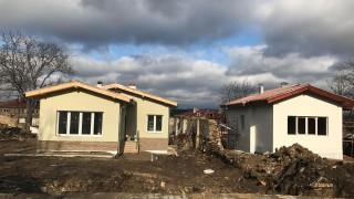 22 нови къщи за пострадалите от Хитрино