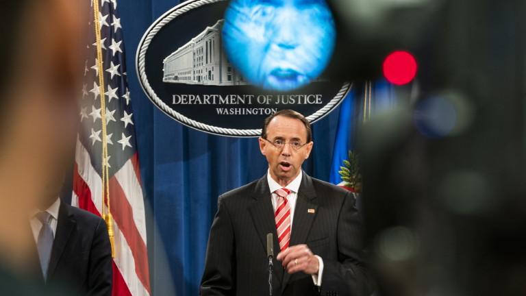 Заместник-главният прокурор на САЩ Род Розенстийн е предложил през миналата