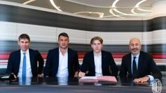 Йенс Петер Хауге е футболист на Милан