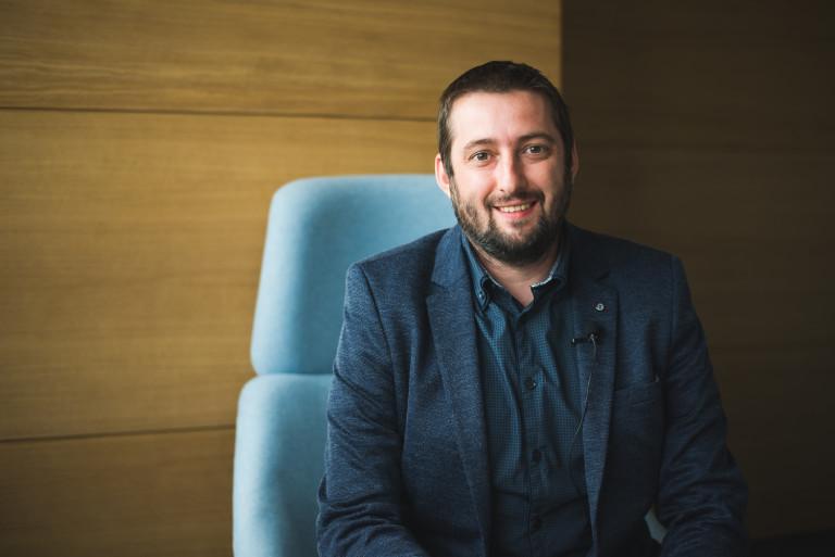 Даниел Бошнаков е фасилити мениджър в Cargotec България
