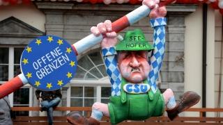 Карикатурите, които няма да видите на карнавал в Дюселдорф