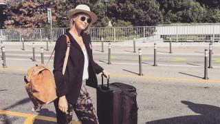 Мария Шарапова отлетя на почивка в Лисабон