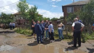 Еднократна помощ за пострадалите от пороите в село Дъбене