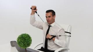 Фитнес пред бюрото - фасулска работа