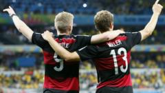 Германия ще се готви в Швейцария