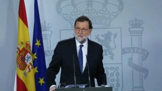 Рахой уволнява каталунското правителство, свиква регионални избори