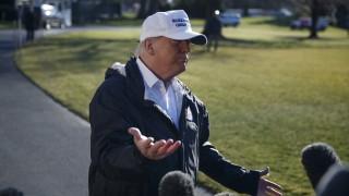 Тръмп се отметна някога да е казвал, че Мексико ще плаща за стена