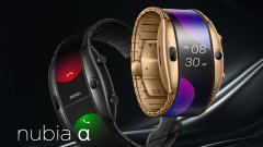 Nubia Alpha е часовник-смартфон с огромен екран