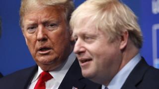 """Тръмп съгласен с Борис Джонсън относно """"сделка на Тръмп"""" за Иран"""