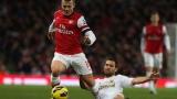 Звезда на Арсенал отрече да се е бил в нощен клуб