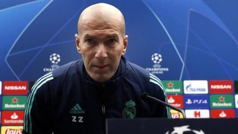 Зидан: Реал (Мадрид) заслужава доверие
