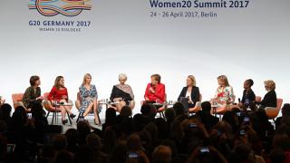 Иванка Тръмп се присъедини към Меркел на срещата на жените от Г-20