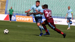 Септември - Дунав 2:3, втори гол, но и червен картон за Свилен Щерев!