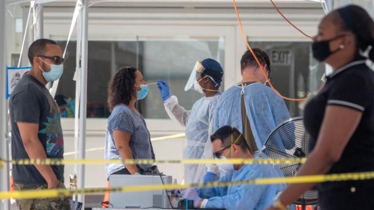Броят на починалите от новия коронавирус (COVID-19) в американския щат