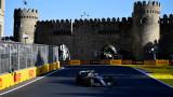 Валтери Ботас удържа Хамилтън и триумфира на Гран при на Баку