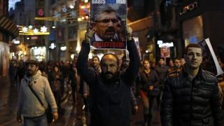 2000 души протестираха в Истанбул след убийството на кюрдския адвокат