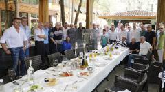 Ветераните на Левски отпразнуваха 40 години от паметния успех над Барселона