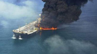 Танкер и кораб се сблъскаха в пролива Малака