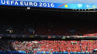 УЕФА отчете рекордна телевизионна аудитория на Евро 2016