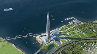 Небостъргачът на Газпром в Петербург надмина по цена най-високата сграда в света