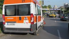 Пътнически бус катастрофира на пътя Ловеч - Троян
