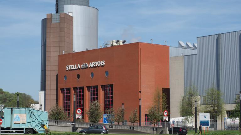 Базираната в Белгия Anheuser-Busch InBev (AB InBev), която е най-големият