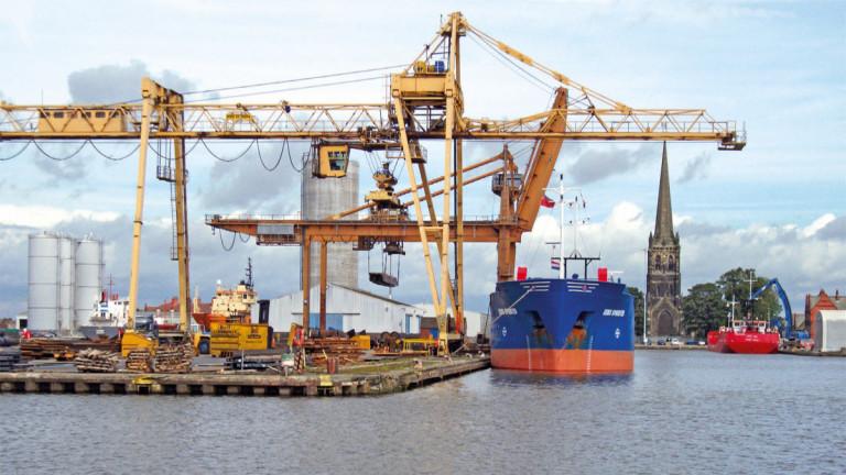 Пристанището в Гул