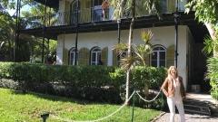 Йоана Драгнева в къщата на Хемингуей (СНИМКИ)