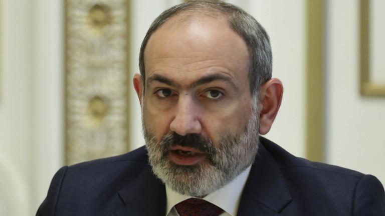Пашинян свиква среща на Съвета за сигурност заради Азербайджан